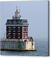 Ledge Light - Connecticut's House In The River  Canvas Print