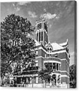 Lee County Courthouse In Giddings Texas Canvas Print