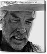 Lee Marvin Monte Walsh Set  Old Tucson Arizona 1969 Canvas Print