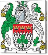Leech Coat Of Arms Irish Canvas Print