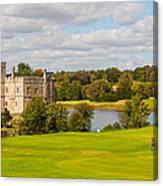 Leeds Castle Golf 2 Canvas Print