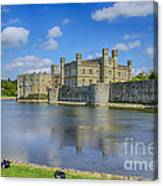 Leeds Castle Moat 2 Canvas Print