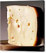 Leerdammer Cheese, Prague, Czech Canvas Print