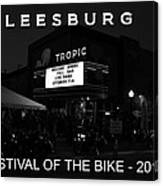 Leesburg Bikefest 2013 Poster Work One Canvas Print
