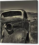 Left In The Hills Canvas Print