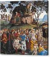 Legacy And Death Of Moses Canvas Print