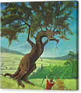 Legendary Archer Canvas Print