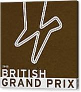 Legendary Races - 1948 British Grand Prix Canvas Print