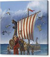 Legendary Viking Canvas Print