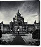 Legislature Building British Columbia Victoria Canvas Print