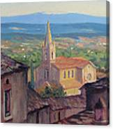 L'eglise Sur La Colline Canvas Print