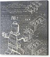Lego Patent Canvas Print