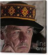 Lemko Grand Portrait By Adela . Canvas Print