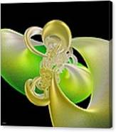 Lemon Lime Twist Canvas Print