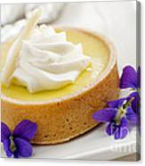 Lemon Tart  Canvas Print