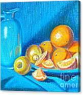 Lemons And Oranges Canvas Print