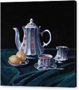 Lemons And Tea Canvas Print