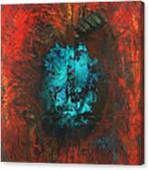 Lemurian Fire Cave 2010 Canvas Print