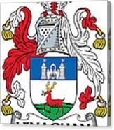 Lenaghan Coat Of Arms Irish Canvas Print