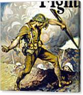Lend The Way They Fight, 1918 Canvas Print