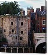 Lendal Tower York Canvas Print