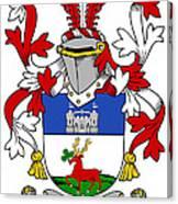 Lenihan Coat Of Arms Irish Canvas Print