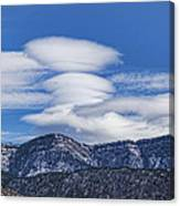 Lenticular Clouds Forming 493 Canvas Print
