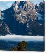 Lenticular Peak Canvas Print