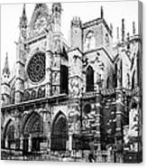 Leon Cathedral Canvas Print