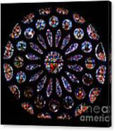 Leon Spain Cathedral Rosette Canvas Print