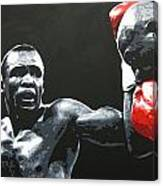 Leonard Vs. Hagler 2 Canvas Print