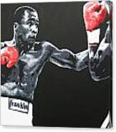 Leonard Vs Hagler Canvas Print