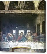 Leonardo Da Vinci's Last Supper Canvas Print