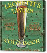 Leonetti's Tavern Canvas Print
