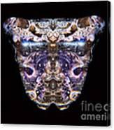 Leopard Heart Bowl Canvas Print