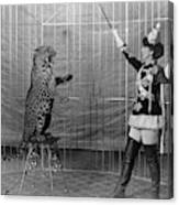 Leopard Trainer, C1906 Canvas Print