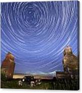 Lepine Star Trails Canvas Print