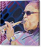 Leroi Moore-op Art Series Canvas Print