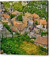 Les Baux De Provence France Dsc01915 Canvas Print