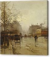 Les Boulevards Paris Canvas Print