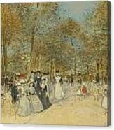 Les Champs-elysees Canvas Print
