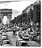 Les Champs Elysees  Canvas Print