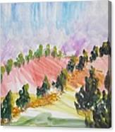 Les Chypres Canvas Print