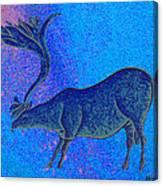 Les Combarelles Reindeer  Canvas Print