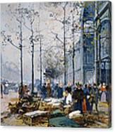 Les Halles Paris Canvas Print