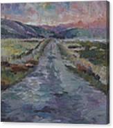 Less Travelled Canvas Print