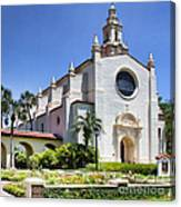 Let There Be Light Knowles Memorial Chapel 1 By Diana Sainz Canvas Print