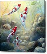 Let Us Be Koi Canvas Print