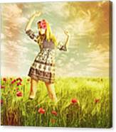 Let Us Dance In The Sun Canvas Print