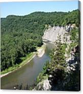 Letchworth State Park Genesee River I Canvas Print